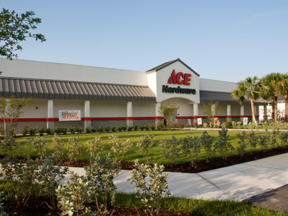 Ace Hardware from the front